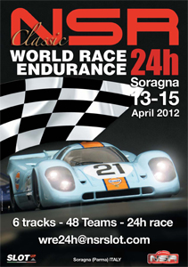 Rules - World Race Endurance - 24h - Salsomaggiore, 12-14 Aprile 2013