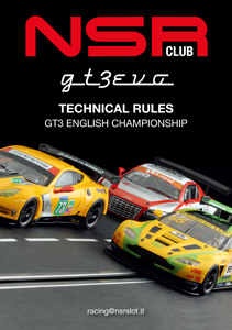 GT3 EVO Technical Rules (UK)
